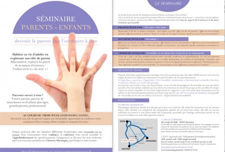 seminaire parents enfants cycle 2015 2016 psychologue